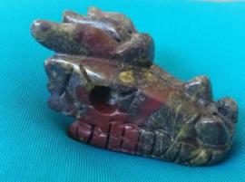 Dragon Blood Jaspis Dragon Skull