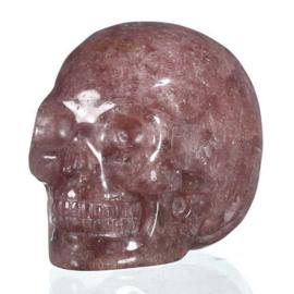 Aardbeikwarts Skull