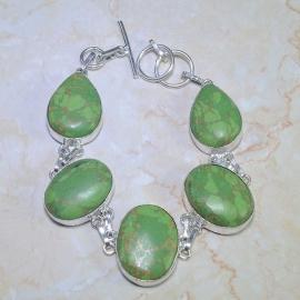 Groene Turkoois armband 1