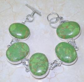 Groene Turkoois armband 2