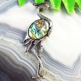 Kraanvogel Abaloneschelp