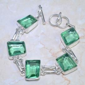 Groene Amethyst armband