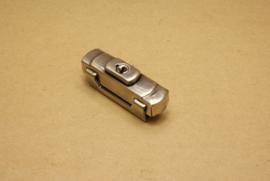 Beugelslot Luxe oud nikkel