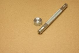Slagstempel voor zeilring 6mm