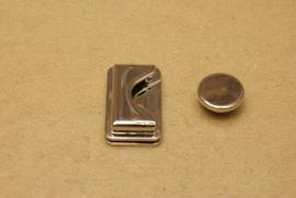 Magneetslot nikkel