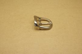 Gesp nikkel 25 mm