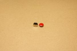 Holnieten dubbele kop rood 36/8 (100)