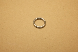 Ring gelast nikkel 20 mm