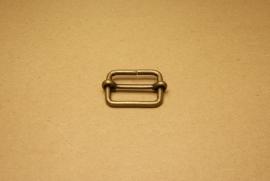 Schuifgesp oud goud 30 mm