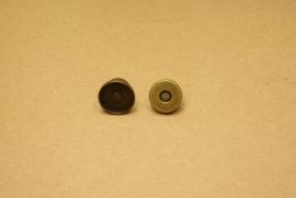 Magneetsluiting oud goud