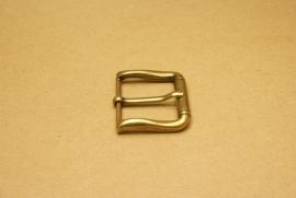 Gesp oud goud 40 mm