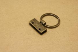 Sleutelring oud goud 25 mm