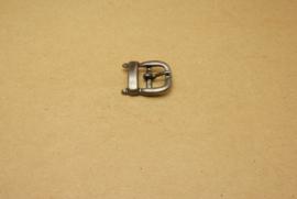 Gesp oud nikkel 15 mm **Nieuw**