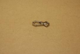 Musqueton nikkel, bandbreedte 7 mm **Nieuw**