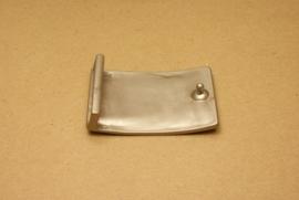 Gesp mat nikkel 40 mm