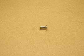 Boekschroef nikkel 10mm (10)