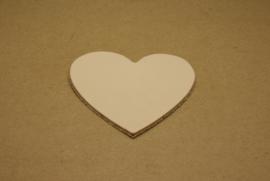 Label hart groot (5 stuks)