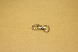 Musqueton nikkel, bandbreedte 15 mm