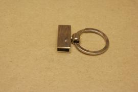 Sleutelring nikkel 25 mm