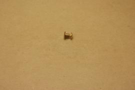 Boekschroef messing 5mm (10) **Nieuw**