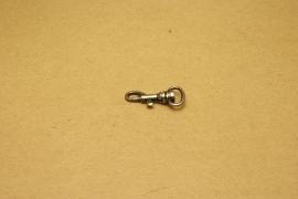 Musqueton oud nikkel, bandbreedte 13 mm