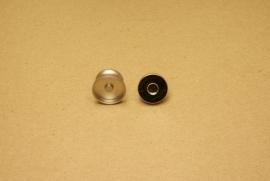 Magneetsluiting mat nikkel