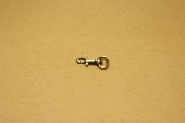 Musqueton oud goud, bandbreedte 13 mm