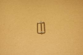 Schuifgesp nikkel 30 mm