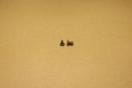 Geweerknop klein oud goud