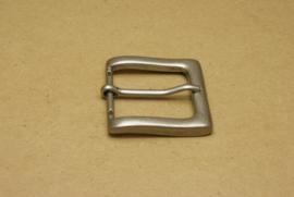Gesp oud nikkel 35 mm **Nieuw**