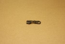 Trekker YKK oud nikkel voor rits 5mm