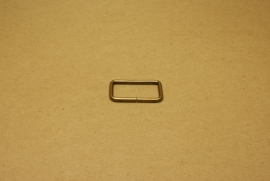 Ring rechthoek ongelast 30mm oud goud