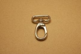 Musqueton nikkel, bandbreedte 30 mm