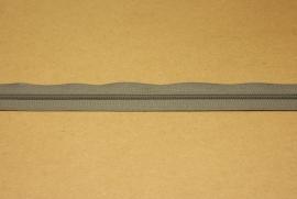 Rits YKK 3mm grijs