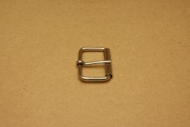 Rolgesp nikkel 30 mm