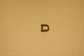 Handvatbevestiging oud goud 12mm