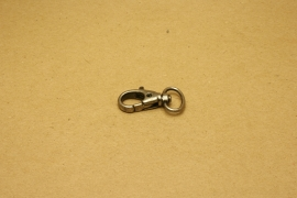 Musqueton oud nikkel, bandbreedte 15 mm