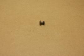 Boekschroef oud goud 5mm (10) **Nieuw**