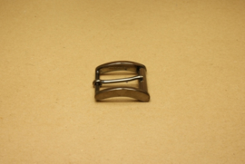 Gesp gun metal 30 mm