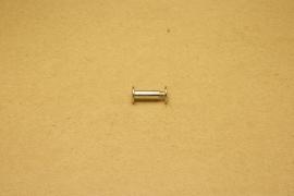 Boekschroef nikkel 15mm (10)