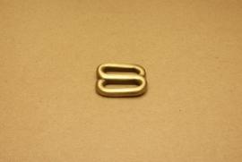 Handvatbevestiging oud goud 25mm