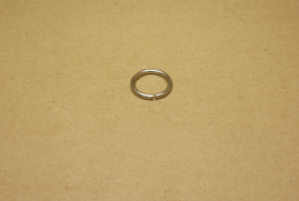 Ring ongelast nikkel 20 mm
