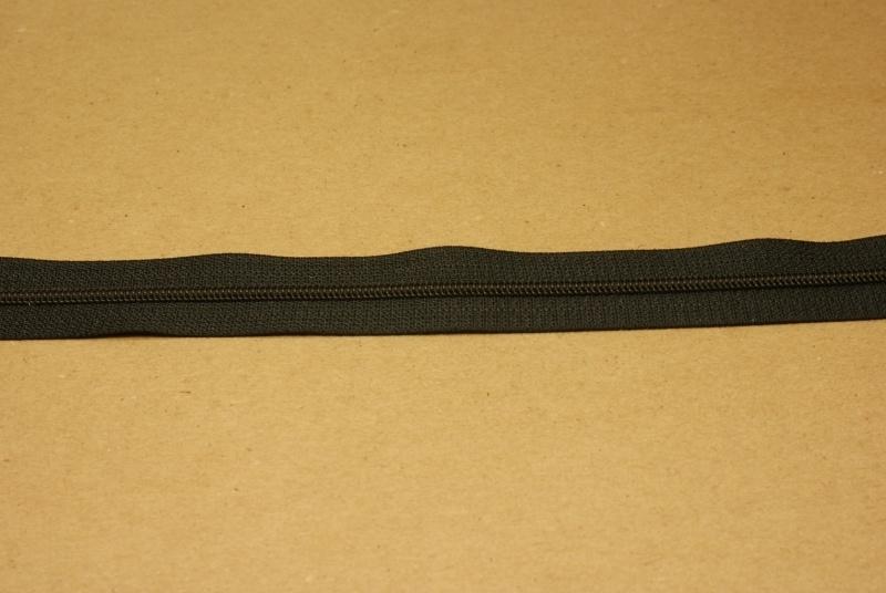 Rits YKK 3mm zwart