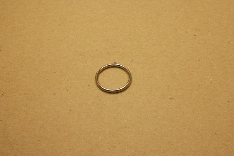 Sleutelring nikkel 20 mm