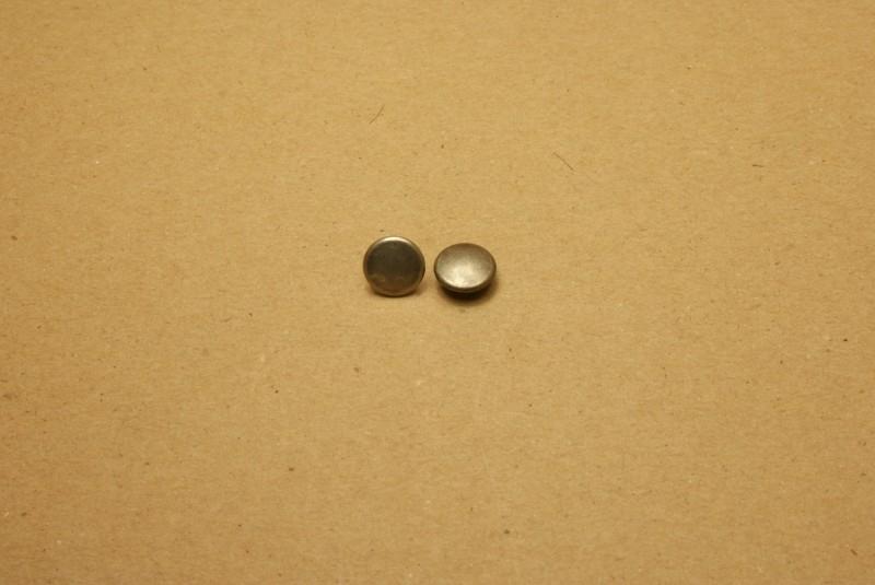 Holnieten dubbele kop oud nikkel 36/8 (100)