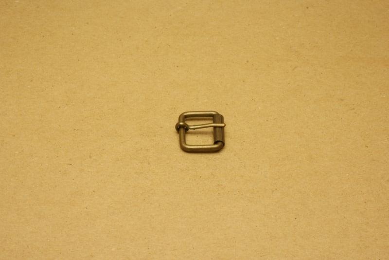 Rolgesp oud goud 20 mm