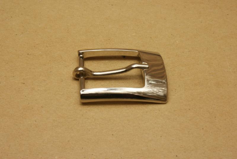 Gesp nikkel 30 mm **Nieuw**