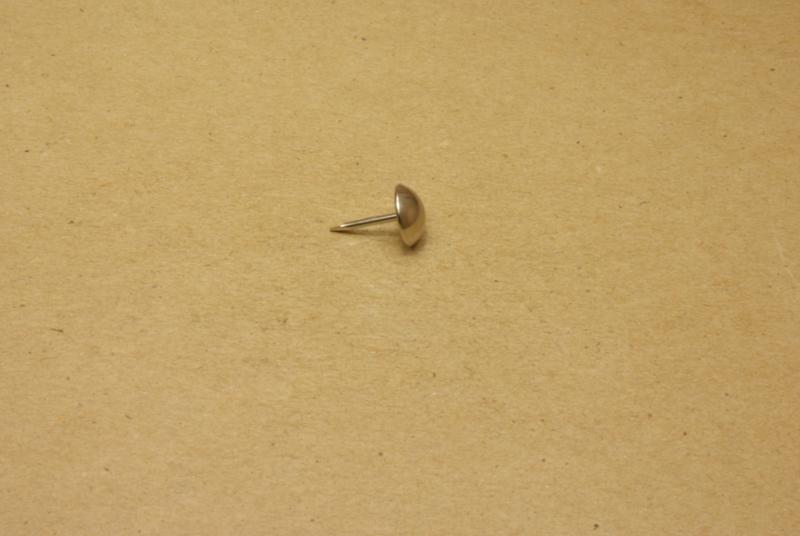 Meubelspijker nikkel (100) **Nieuw**