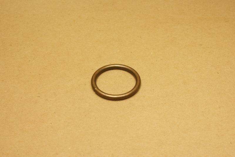 Ring gelast oud goud 30 mm