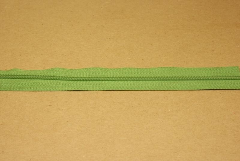 Rits YKK 3mm groen